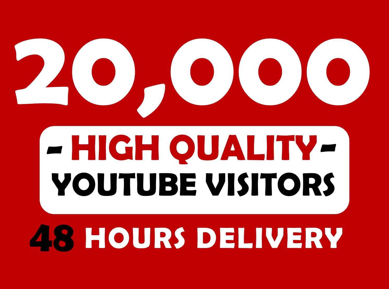 20000 youtube views