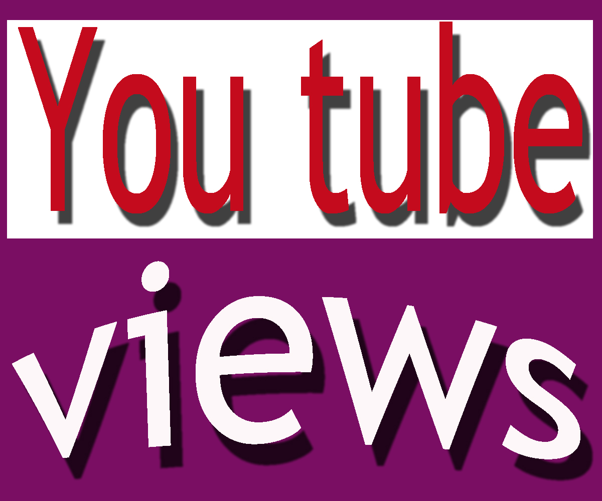 Add 100000+ youtube video views with in 5-7 days
