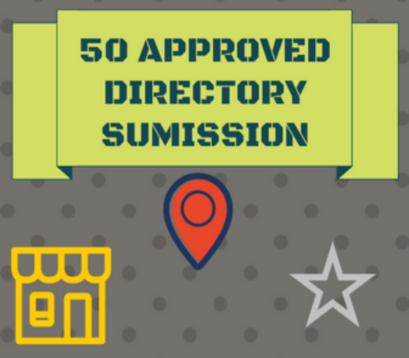 I will Submit Live 50 Approved Effective Directory Submission backlinks