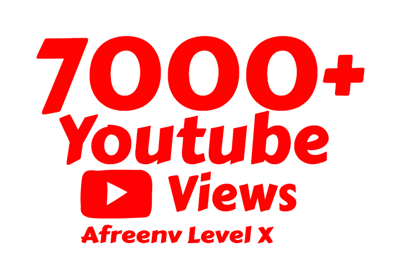 I will add 7000+ High Quality Youtube views