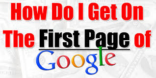 Rank on 1st Page of Google Very Cheap