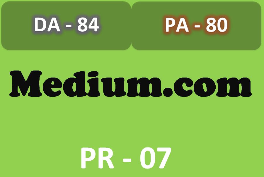 I will write and Guest post on Medium DA PA 80+