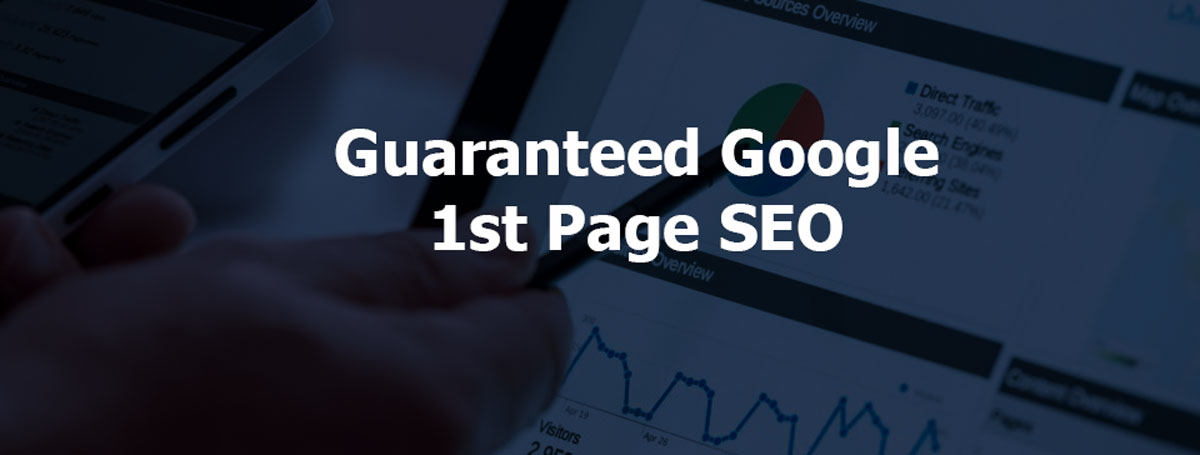 Guaranteed Google 1st Page Monthly SEO Package