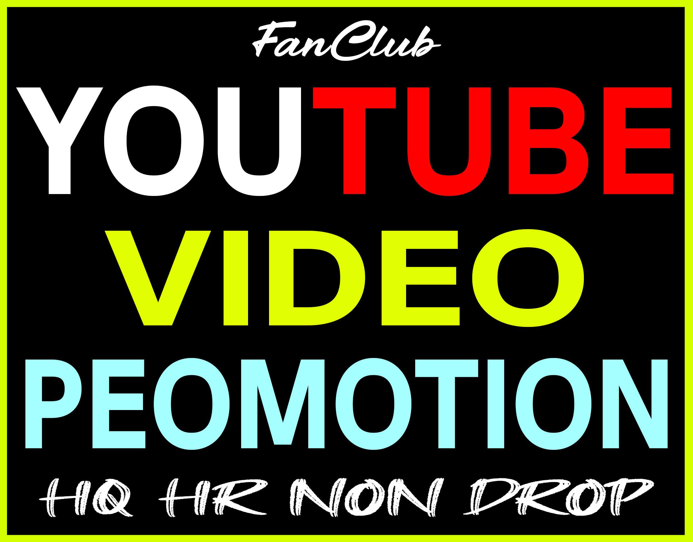 Fast YouTube Video Marketing Promotion Guarantee