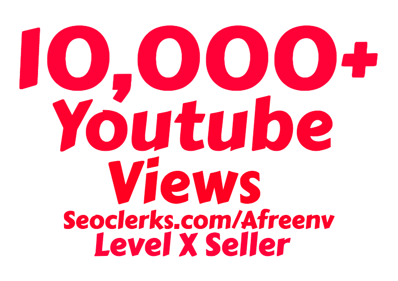 add 10,000 to 12,000+ High Retention Youtube Views in Just