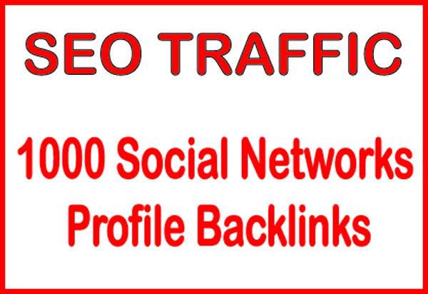 Do HQ PR 1000 Social Networks profile backlinks