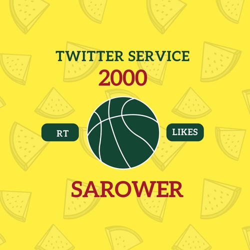 Add 2000 T-witter RT or Likes Fast Service
