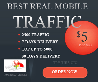 Send Trackable Google Analytics MOBILE Traffic To Your Website