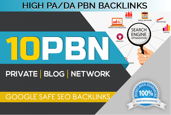 Provide you 10 PBN links From High DA/PA PBN sites