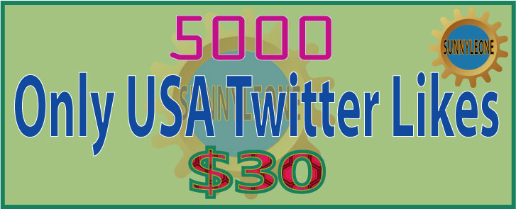 Cheapest 5000 only USA Twitter Likes