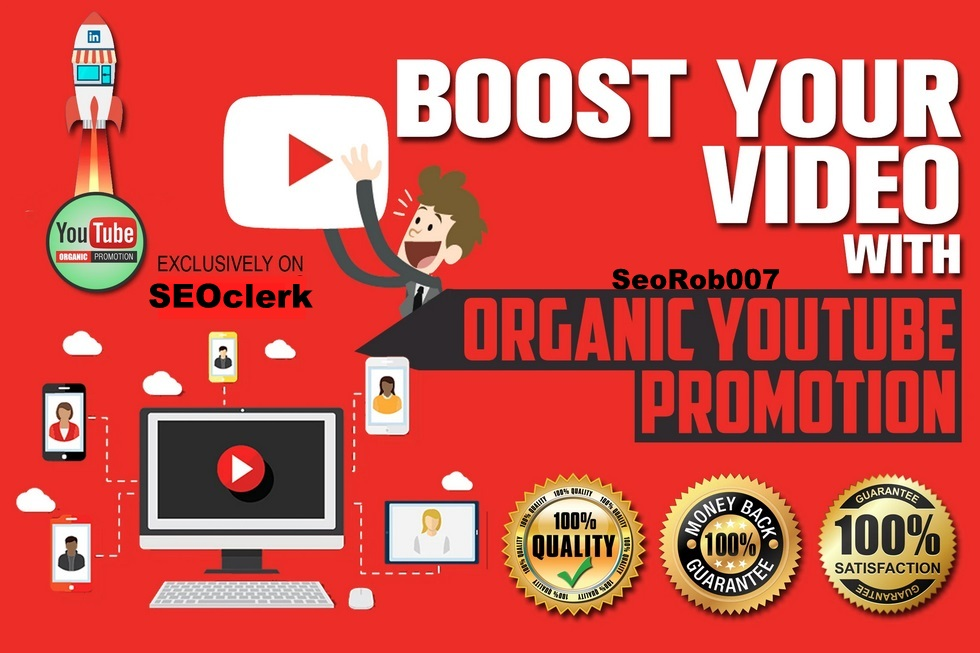 I will blow up your YOUTUBE video,  Fast And Safe Guaranteed Promotion