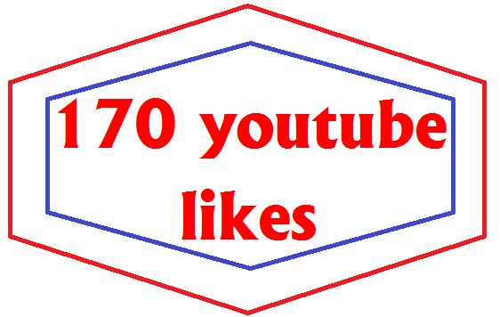 Give 170 youtube likes or 15 High Quality Custom Comments