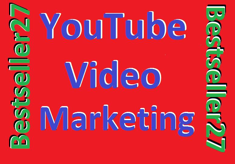 YouTube Video Social Media Marketing Promotion