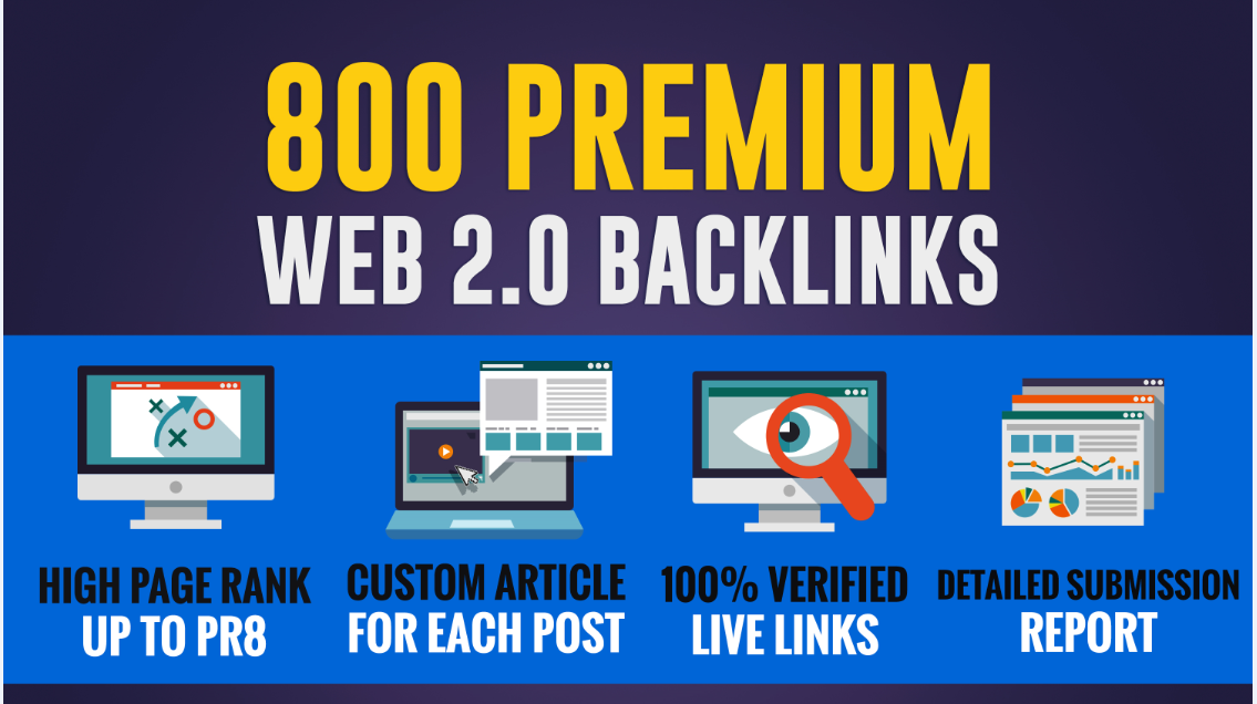 Boost Your Rank With 800 Web 2.0 Contextual Backlinks