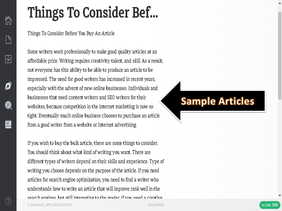Get 3 Article 400+ Words, Copyscape Passed, SEO Friendly