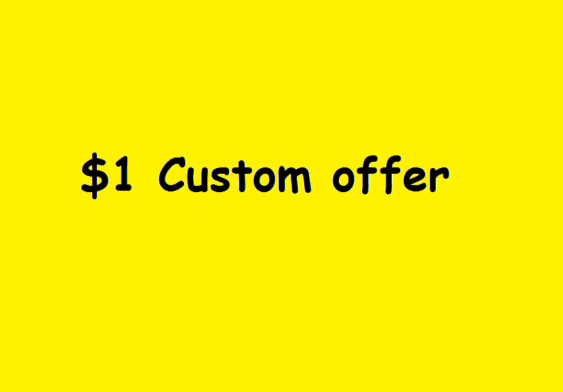 Custom Offer for my client