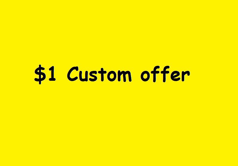 Custom Offer for my client