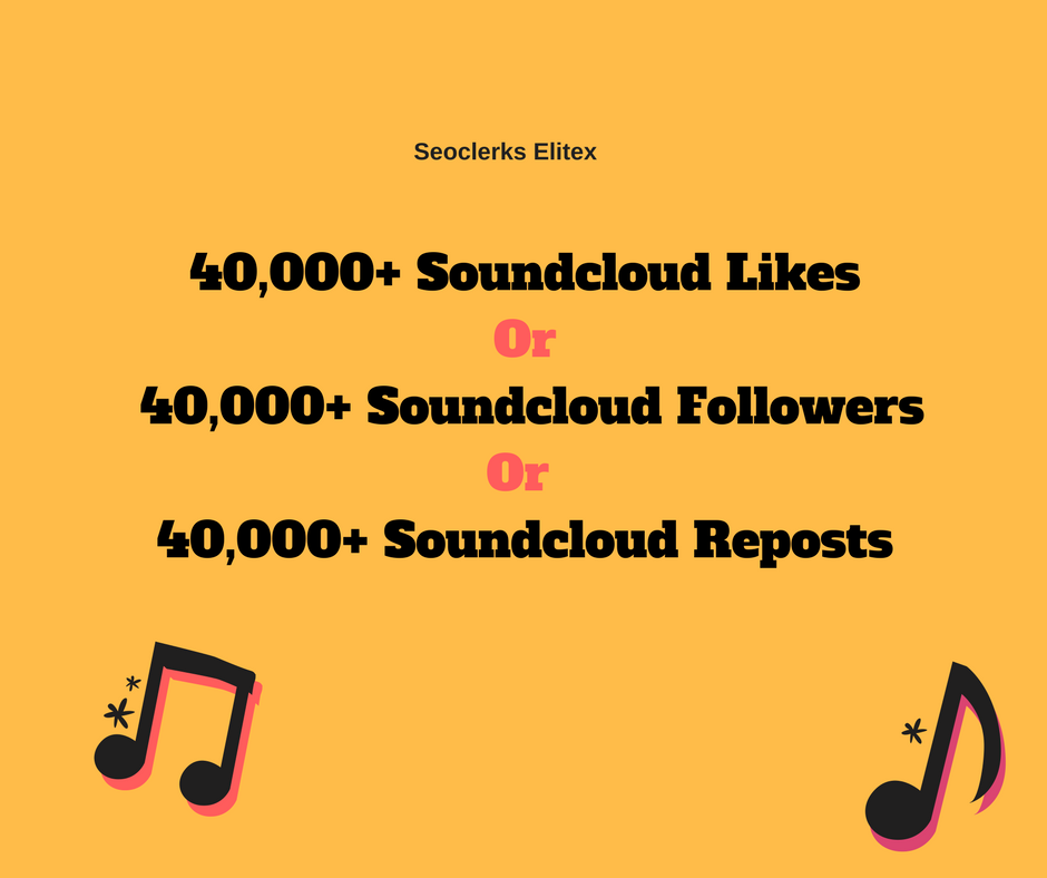 Non Drop 40,000+ Soundcloud Promotion