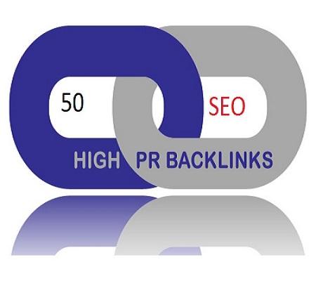 I will create 50 High DA SEO Backlinks