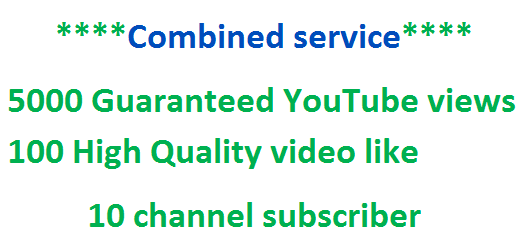 Add Up To  450 Guaranteed YouTube video like within 24 hours