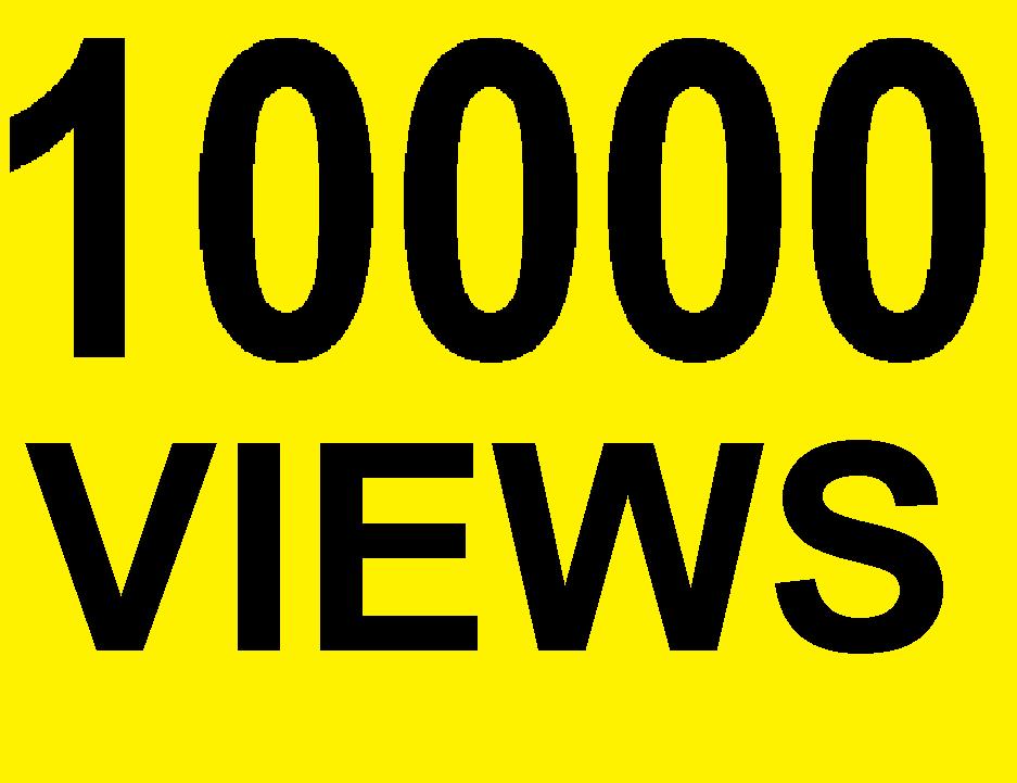 10000 Natural Youtube Views Real Traffic