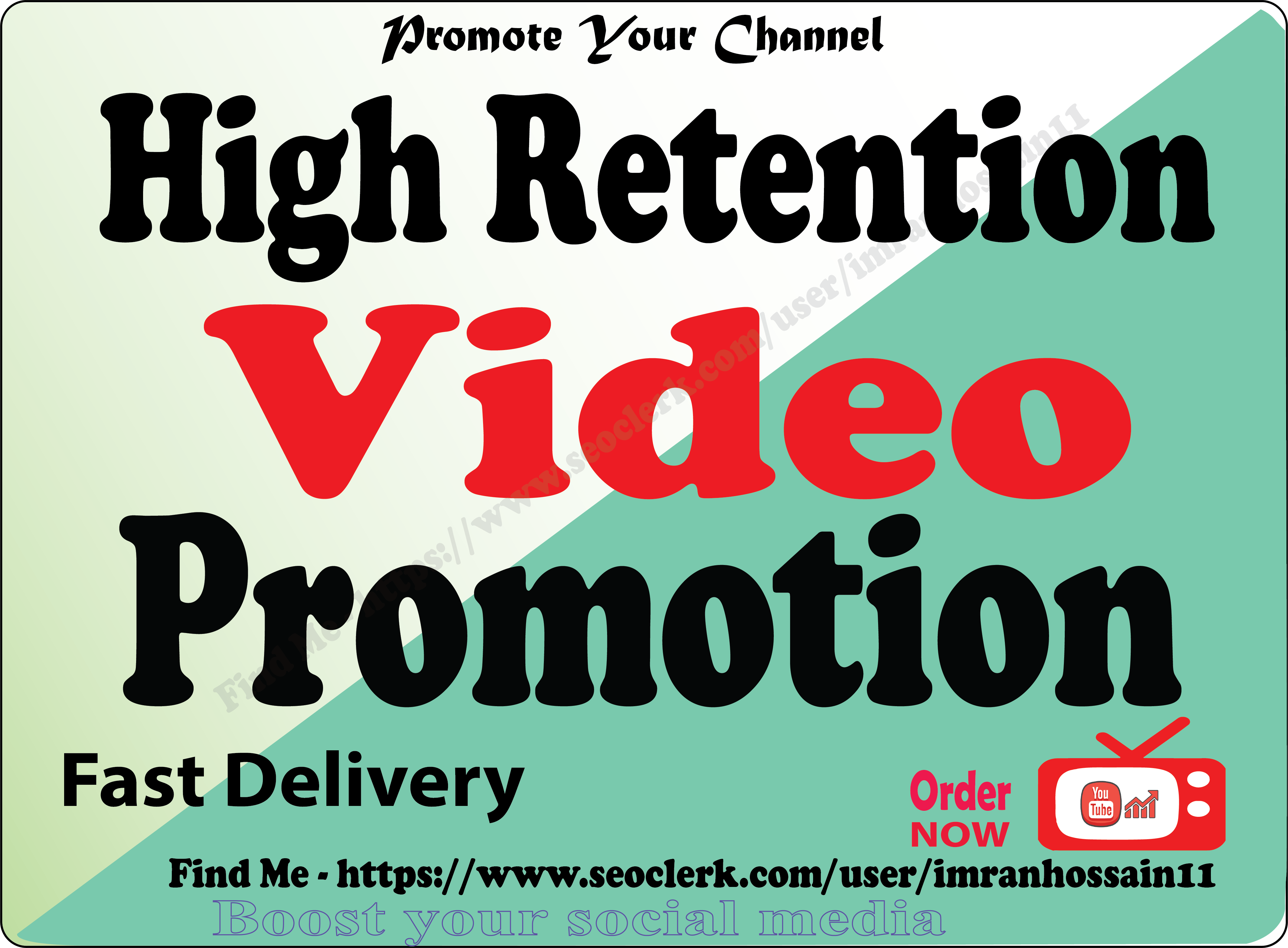 Instant Start Organic Youtube Video Marketing legal way follow YouTube TOS