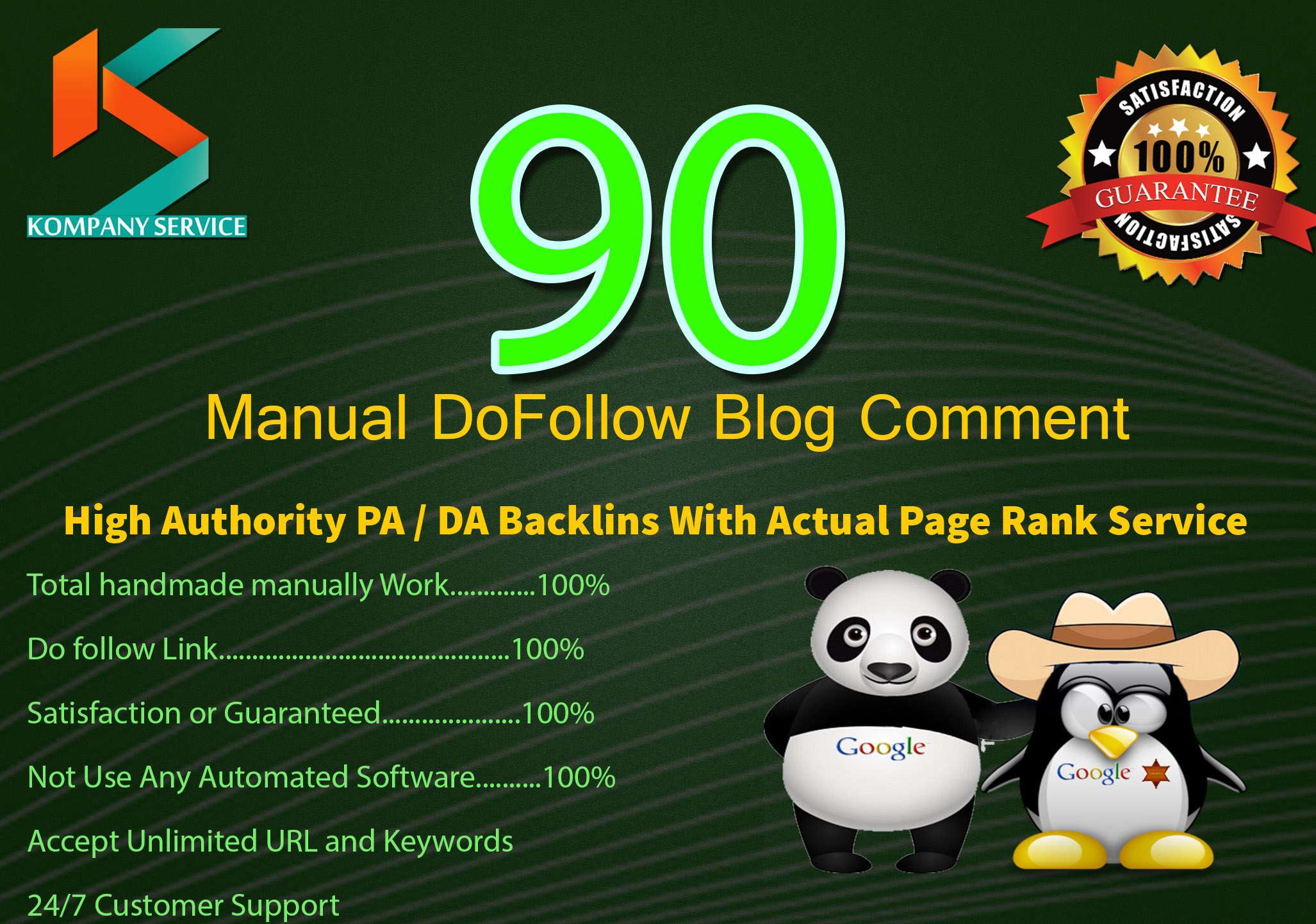 Create Manually 90 High PA & DA Blog Comment Backlinks