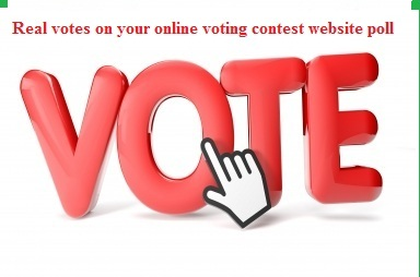 I manage 150 real votes contest for you