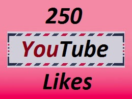 250+ YouTube Real Likes or 30+ Custom Comments very short time