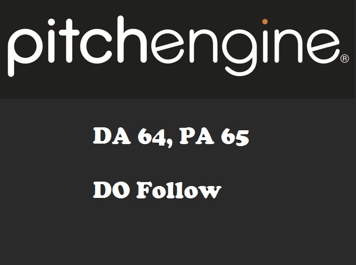 Publish guest post on PitchEngine - PitchEngine.com - DA64, PA65