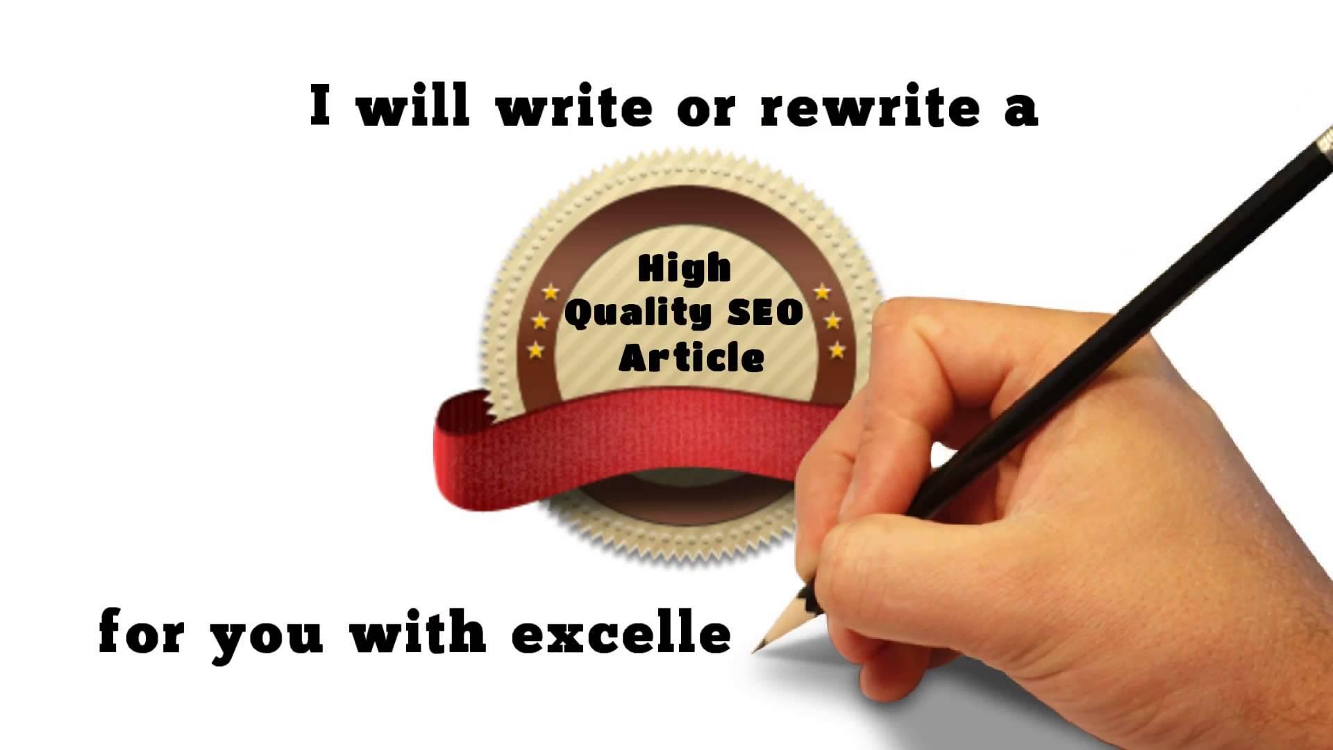 Article & Blog Post Writer