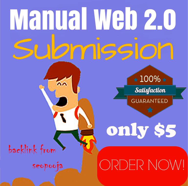 Get top 30 guranteed web 2.0 blog backlinks