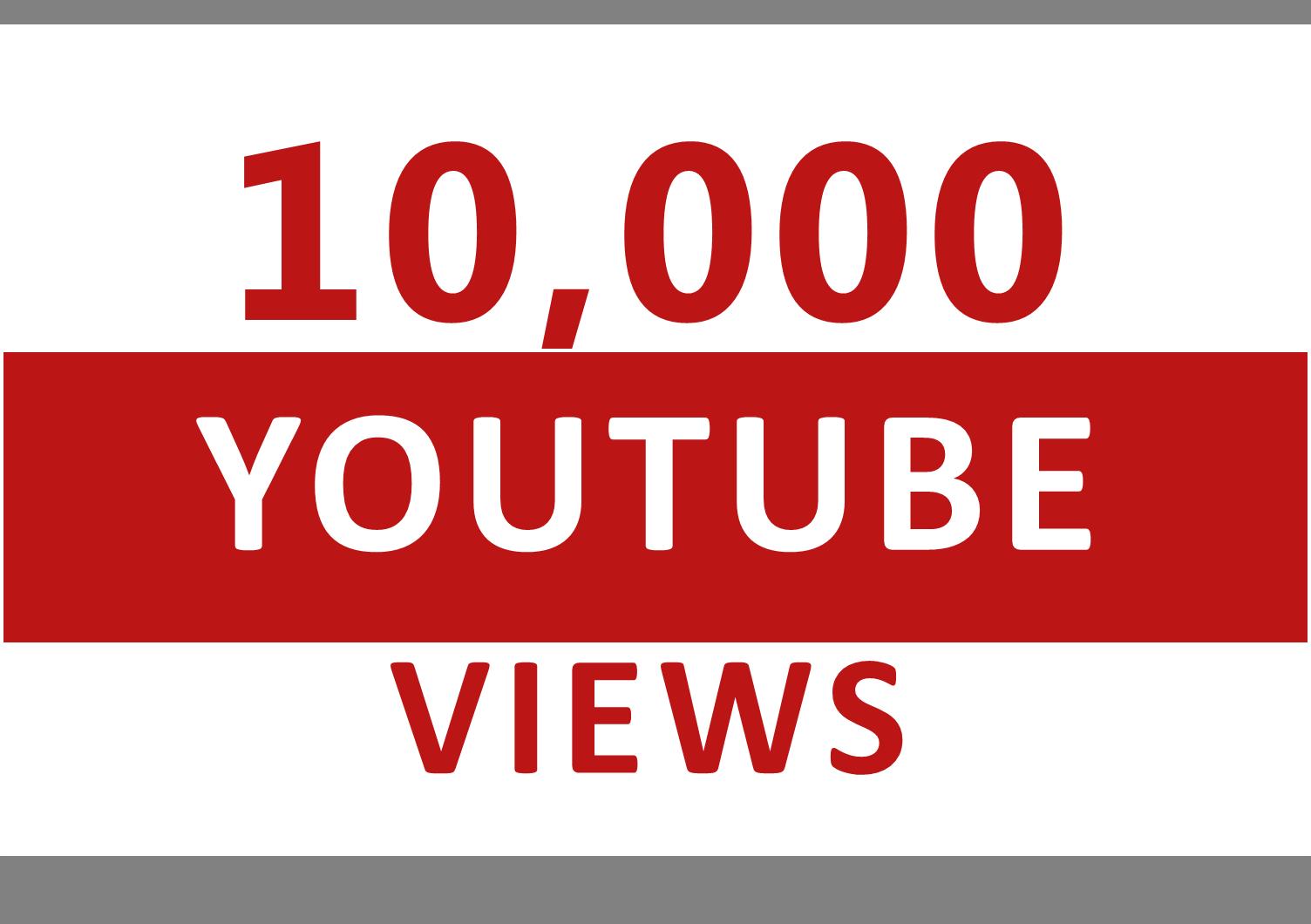 10,000+  Views Safe/Non Drops Super Fast Delivery