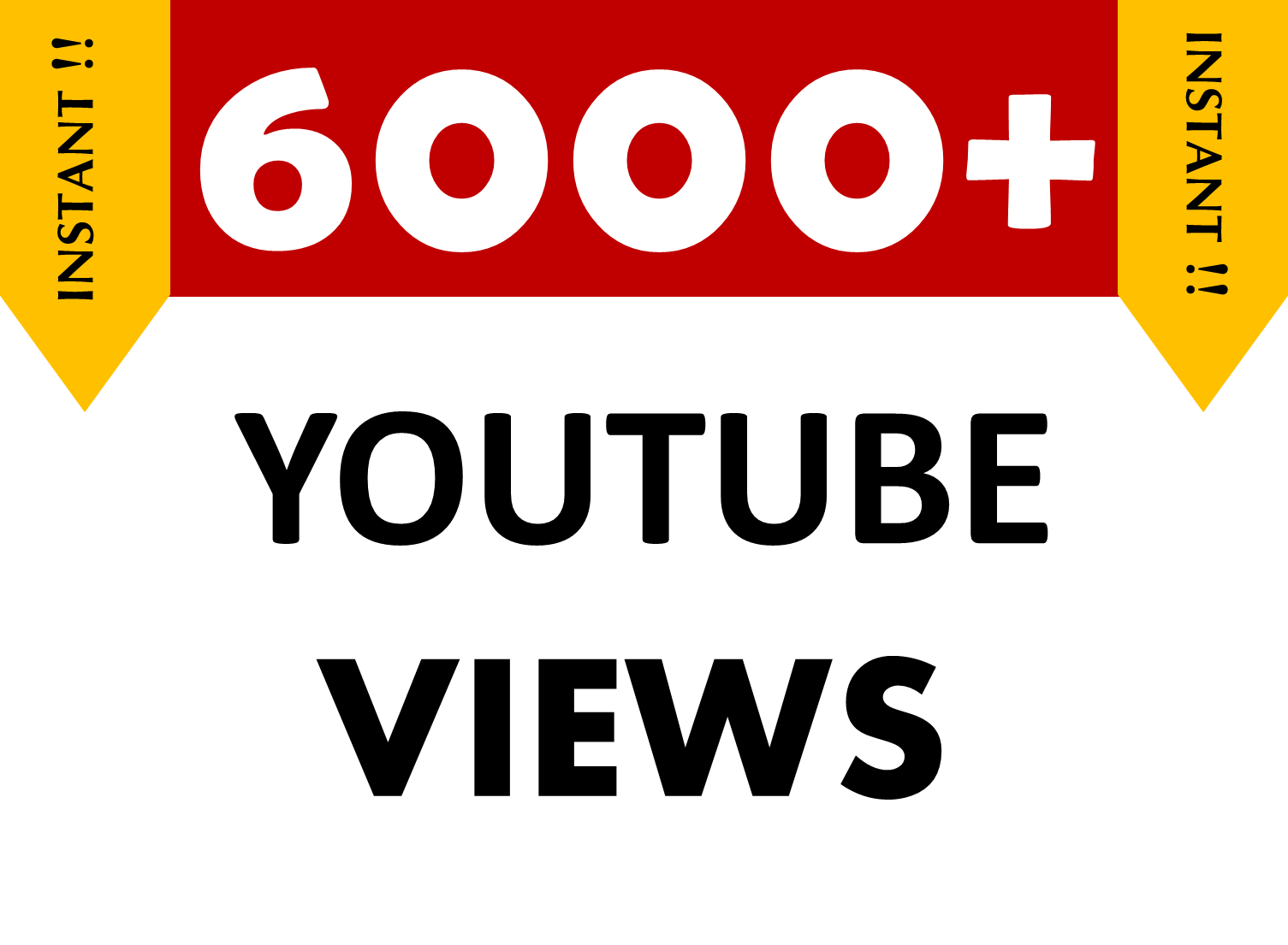 6000+ YouTube Views Safe/Non Drops Super Fast Delivery