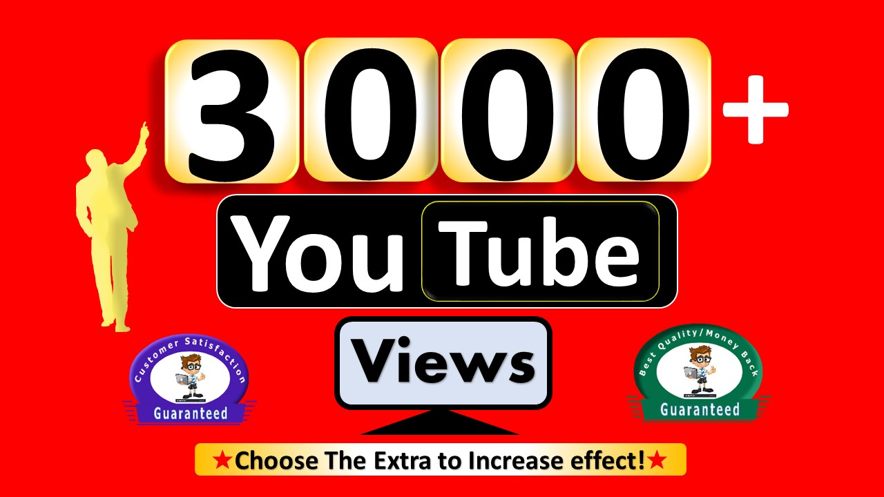 Instant 3099+  Video Views & 200+ Video Likes, Real Active non Drop