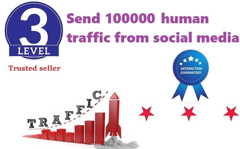send 100000+ human traffic from google yahoo Bing etc.