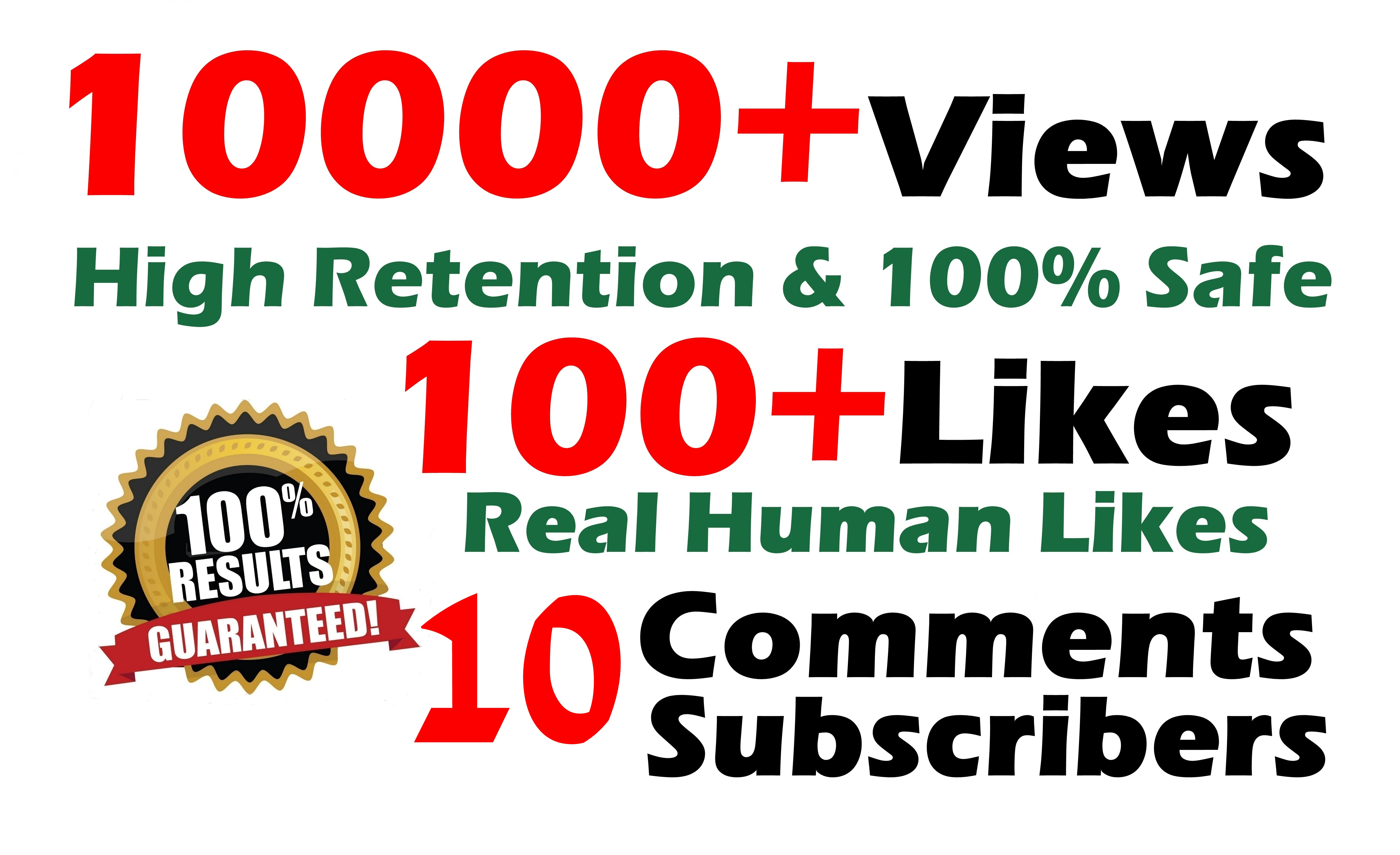 10000 Vie%ws 100 Li%kes 5 Real Com%ments Real Human video SeoPromotion