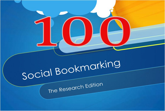 Manually Create 150 Social Bookmarking from high PR SEO social sites
