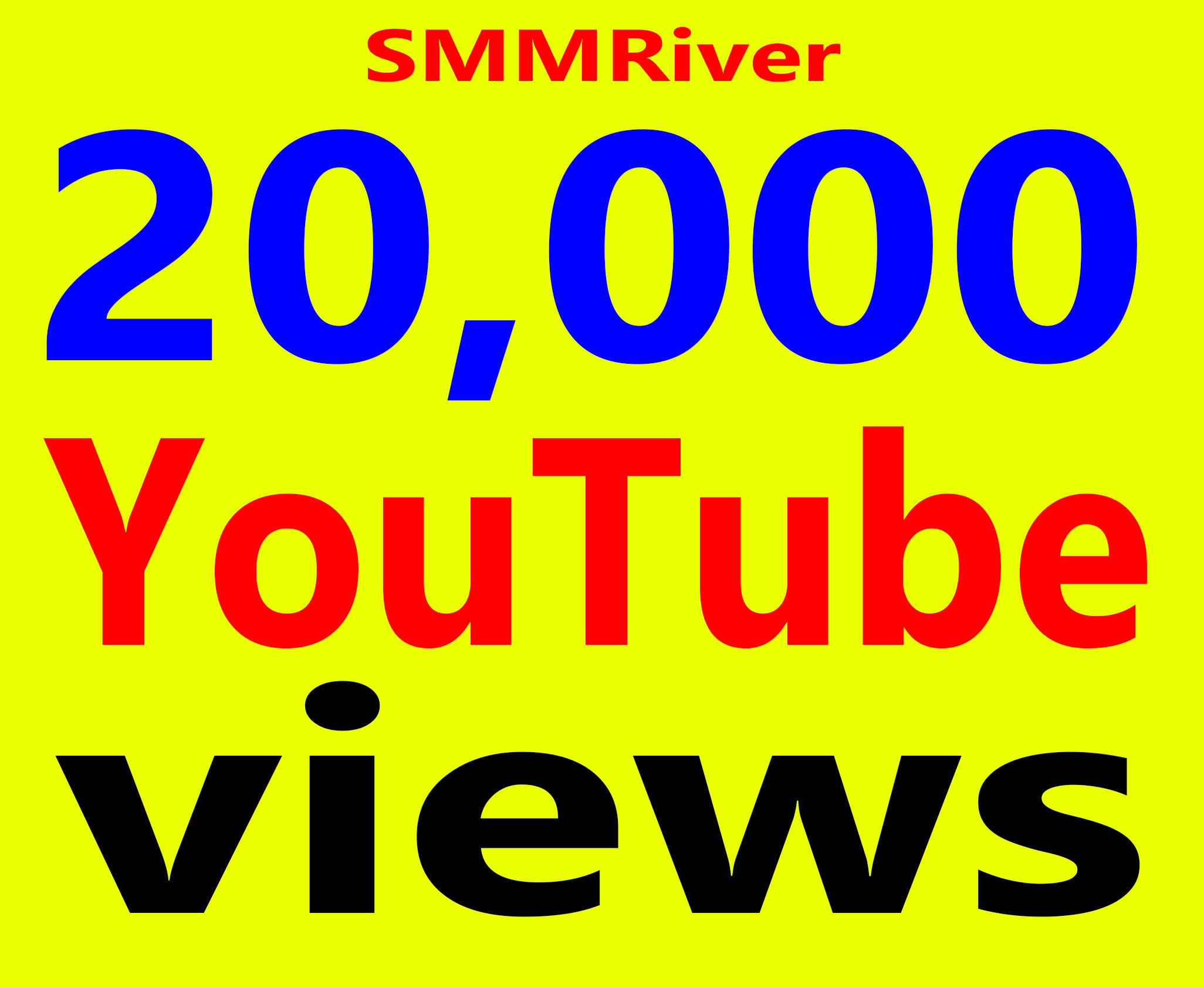 Fast 20,000+ Ad-sense Safe Vie ws High Retention & Non Drop