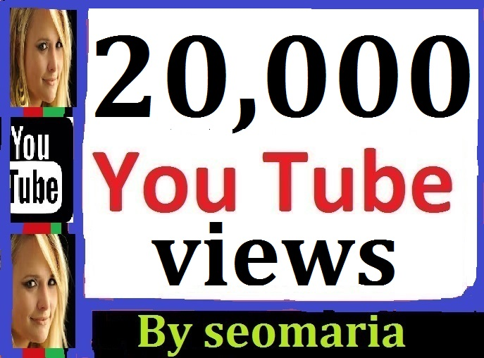 20,000 Youtube Views + 200 Likes + 07 Custom Comments