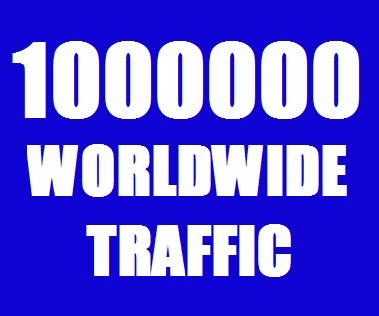 Real 10,00,000 Website Traffic Worldwide