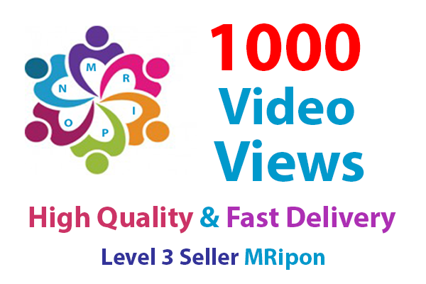 Start Instant 1000 High Retention YouTube Video Views