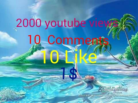 Provide High Quality Custom 1000+youtube views+ 20 subscribers +20Comments+20 like  in Your Video