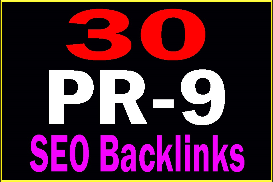 DA - 80+ 30 Pr9 Safe SEO High PR Authority Domains Backlinks best result 2018