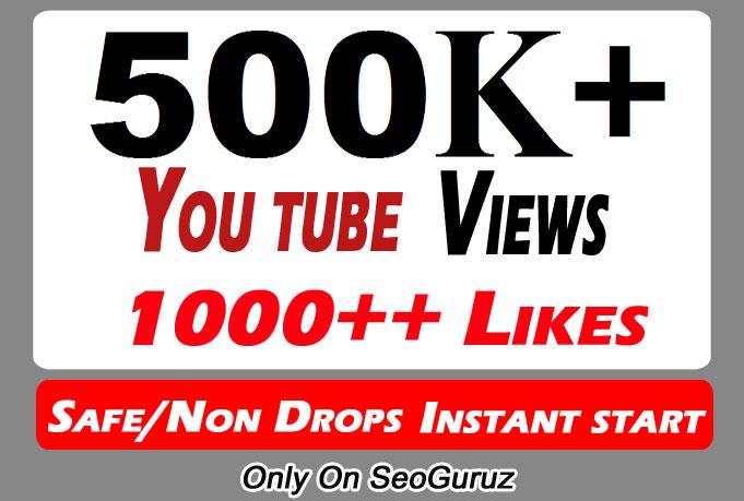 500000 500k Safe YouTube Views