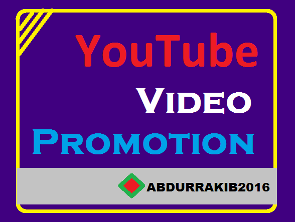 To Get Manually YouTube Video Account Marketing Promotion