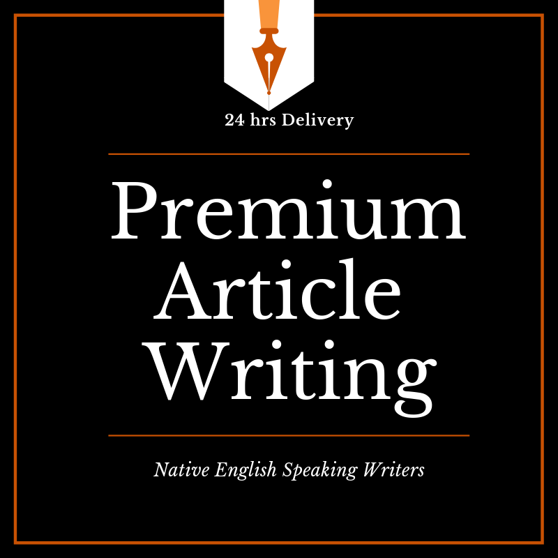 1000 Words Premium Article Writing by Native speaking...