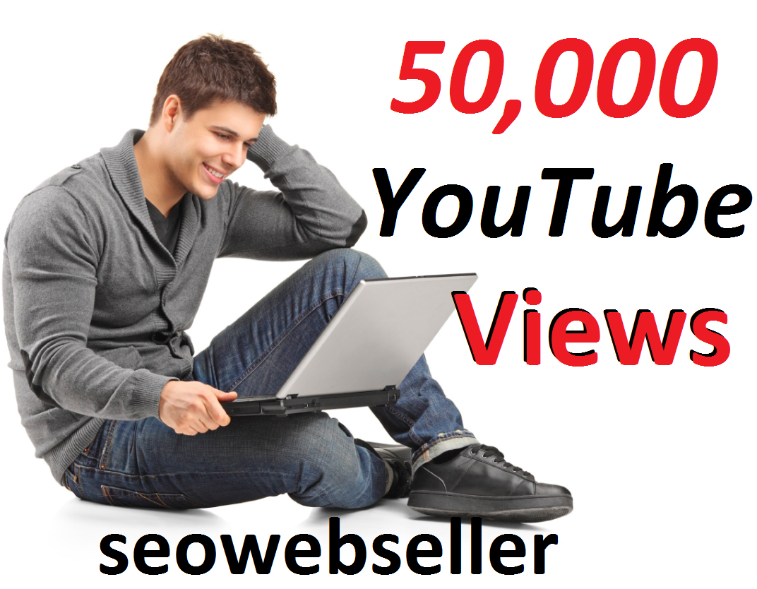 Limited Offer 50,000 youtube video vie ws30 days Refill Guarantee