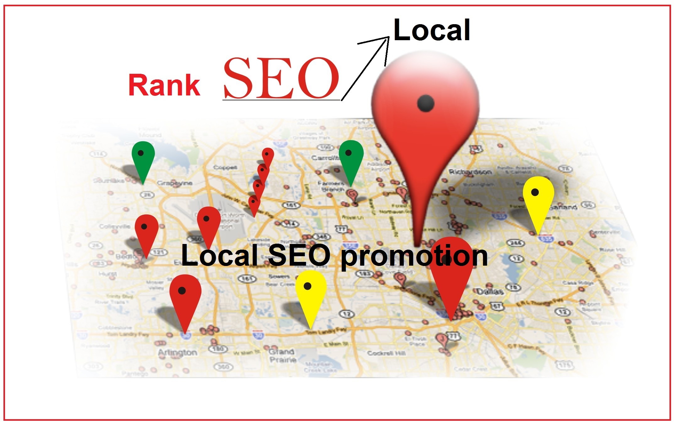 Search Engine rank 125 Google Map Citations for Local SEO