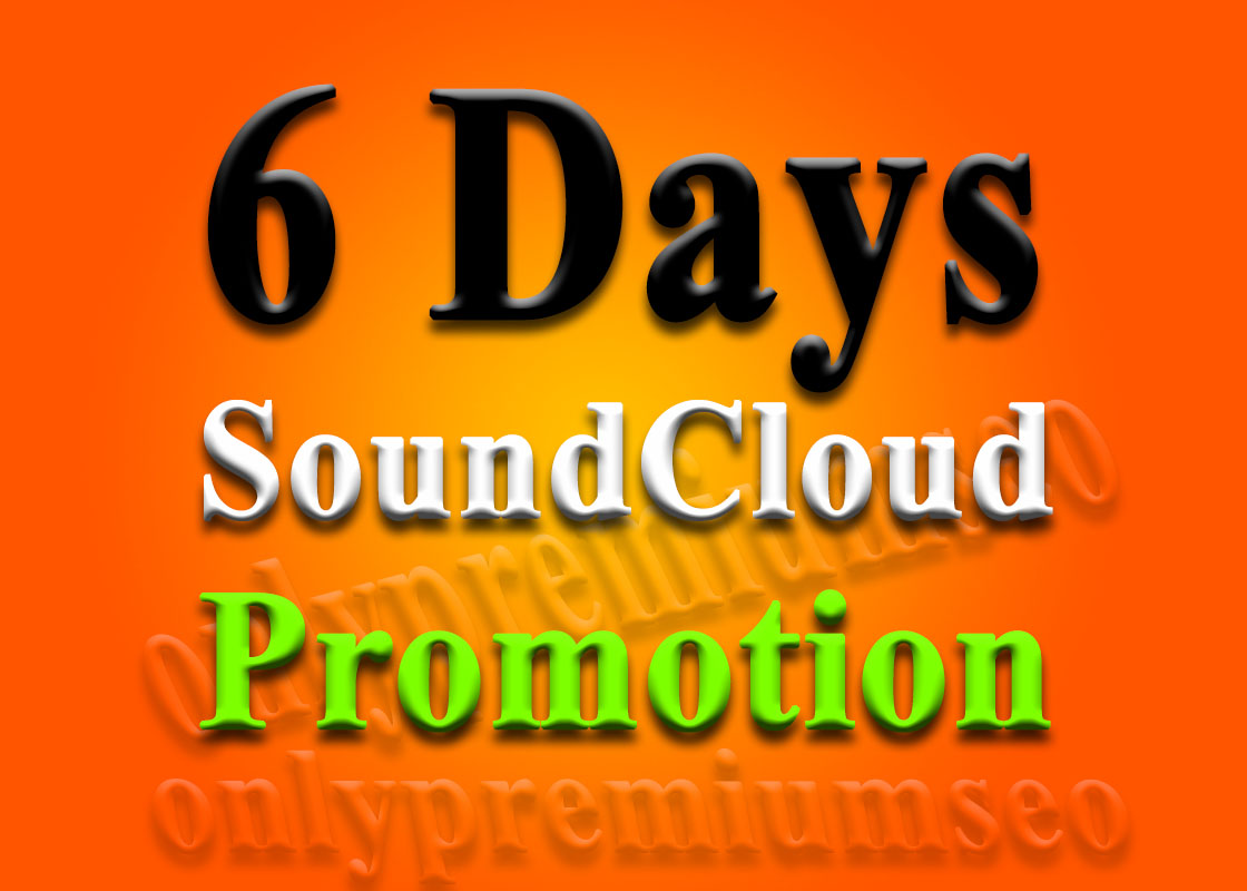 get SoundCloud plays for 6 days